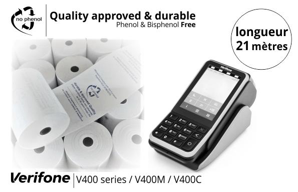 NPpaper label de Qualité | Terminal de Paiement CCV Verifone V400