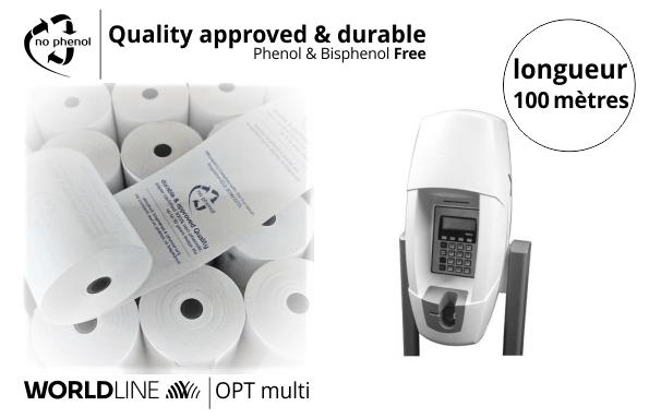 NPpaper label de Qualité | Terminal de Paiement Worldline OPT multi