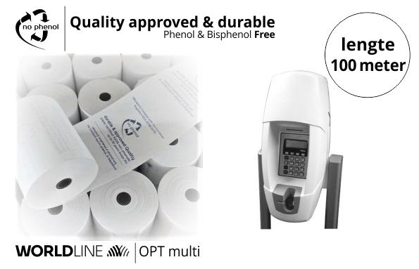 NPpaper Kwaliteitslabel | Worldline OPT multi Betaalterminal