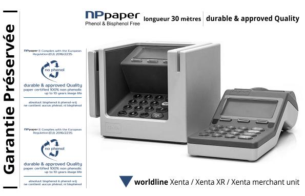 NPpaper label de Qualité | Terminal de Paiement Worldline Xenta