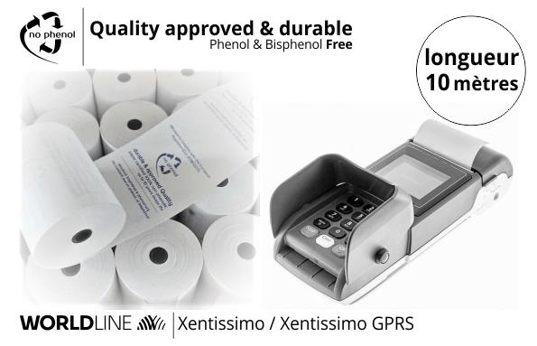 NPpaper label de Qualité   Terminal de Paiement Worldline Xentissimo