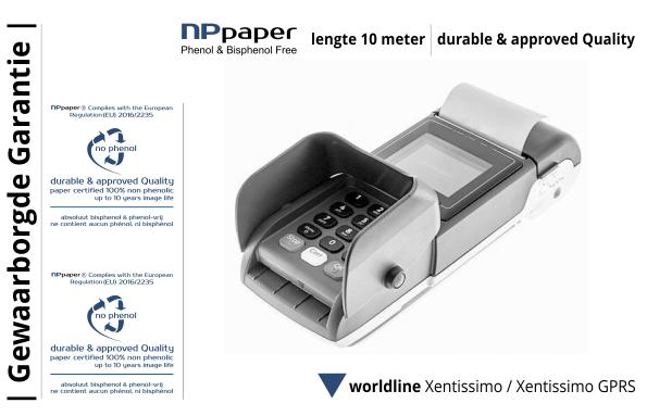 NPpaper Kwaliteitslabel | Worldline Xentissimo Betaalterminal