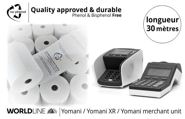 NPpaper label de Qualité | Terminal de Paiement Worldline Yomani