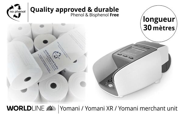 NPpaper label de Qualité | Terminal de Paiement Worldline Yomani sdle