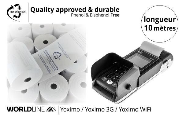 NPpaper label de Qualité | Terminal de Paiement Worldline Yoximo